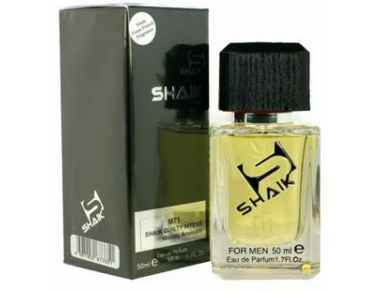 Туалетная вода SHAIK 71 (идентичен GUCCI Guilty Intense Men) 50 ml от Gucci