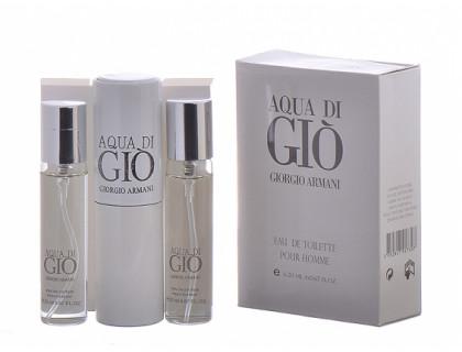 Мини-парфюм Aqua di Gio men 3х20 ml от Giorgio Armani