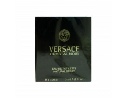 Туалетная вода Crystal Noir Twist & Spray 3х20 ml от Versace