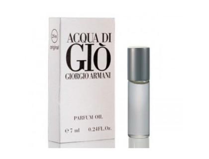 Масляные духи Aqua Di Gio men 7 ml от Giorgio Armani