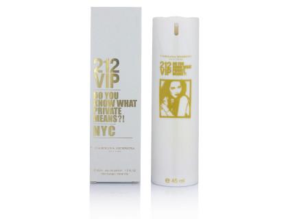 Мини-парфюм 212 VIP 45 ml от Carolina Herrera