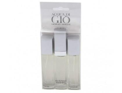 Мини парфюмерия ACQUA Di GIO MEN 3x15 ml от Giorgio Armani