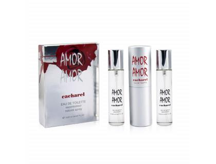 Мини-парфюм Amor Amor 3х20 ml от Cacharel