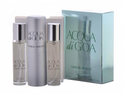 Мини-парфюм Aqua di Gioia 3х20 ml от Giorgio Armani