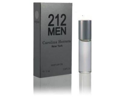 Мужские масляные духи  212 Men 7 ml  от Carolina Herrera
