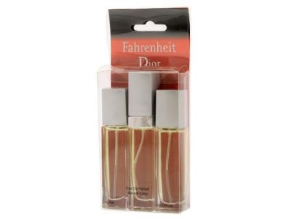 Мини парфюмерия Fahrenheit 3x15 ml от Christian Dior