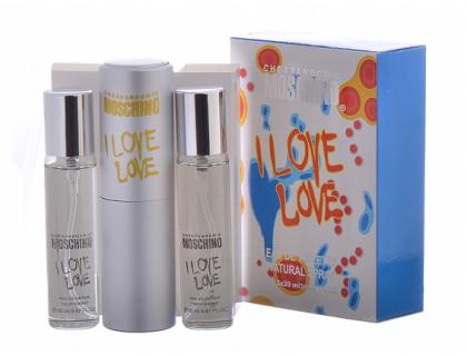 Мини-парфюм I Love Love 3х20 ml от Moschino