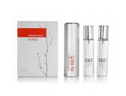 Мини-парфюм In Red 3х20 ml от Armand Basi