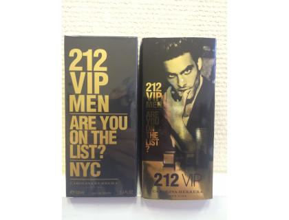 Туалетная вода 212 VIP Men Gold 100 ml от Carolina Herrera