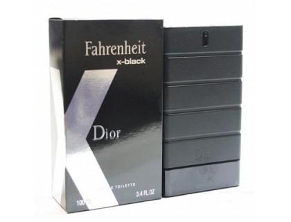 Туалетная вода Fahrenheit x-black 100 ml от Christian Dior