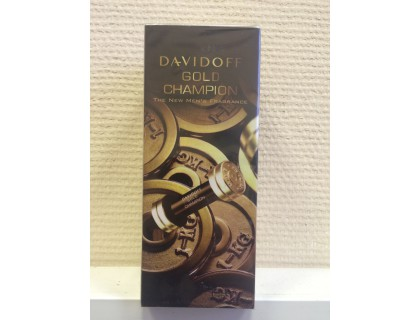 Туалетная вода Gold Champion for men 90 ml от Davidoff