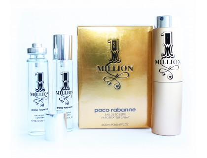 Туалетная вода 1 Million Twist & Spray 3х20 ml от Paco Rabanne