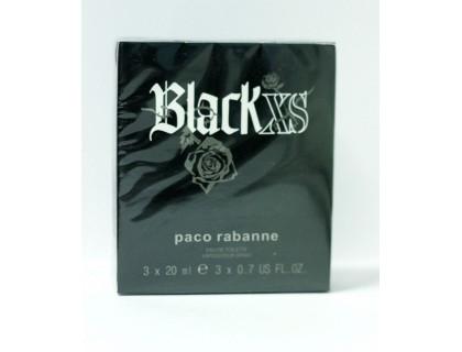 Туалетная вода Black XS Pour Homme Twist & Spray 3х20 ml от Paco Rabanne