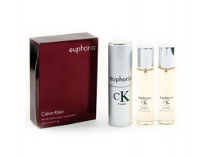 Туалетные духи Euphoria Twist & Spray 3х20 ml от Calvin Klein