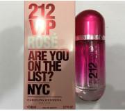 212 VIP Rose (красные) 80 ml