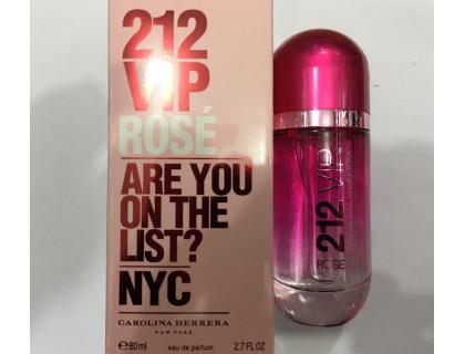 Парфюмированная вода 212 VIP Rose (красные) 80 ml от Carolina Herrera
