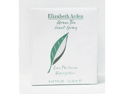 Туалетная вода Green Tea Twist & Spray 3х20 ml от Elizabeth Arden
