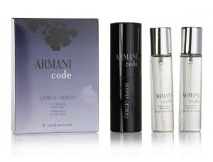 Туалетная вода Code Eau De Parfum Twist & Spray 3х20 ml от Giorgio Armani