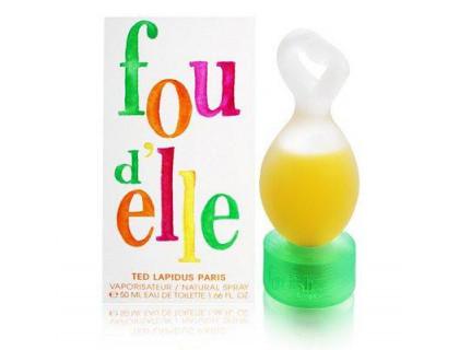 Туалетная вода Fou d'Elle 100 m от Ted Lapidus